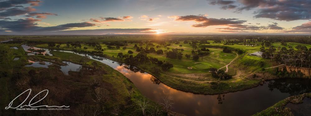 Werribee River Sunset