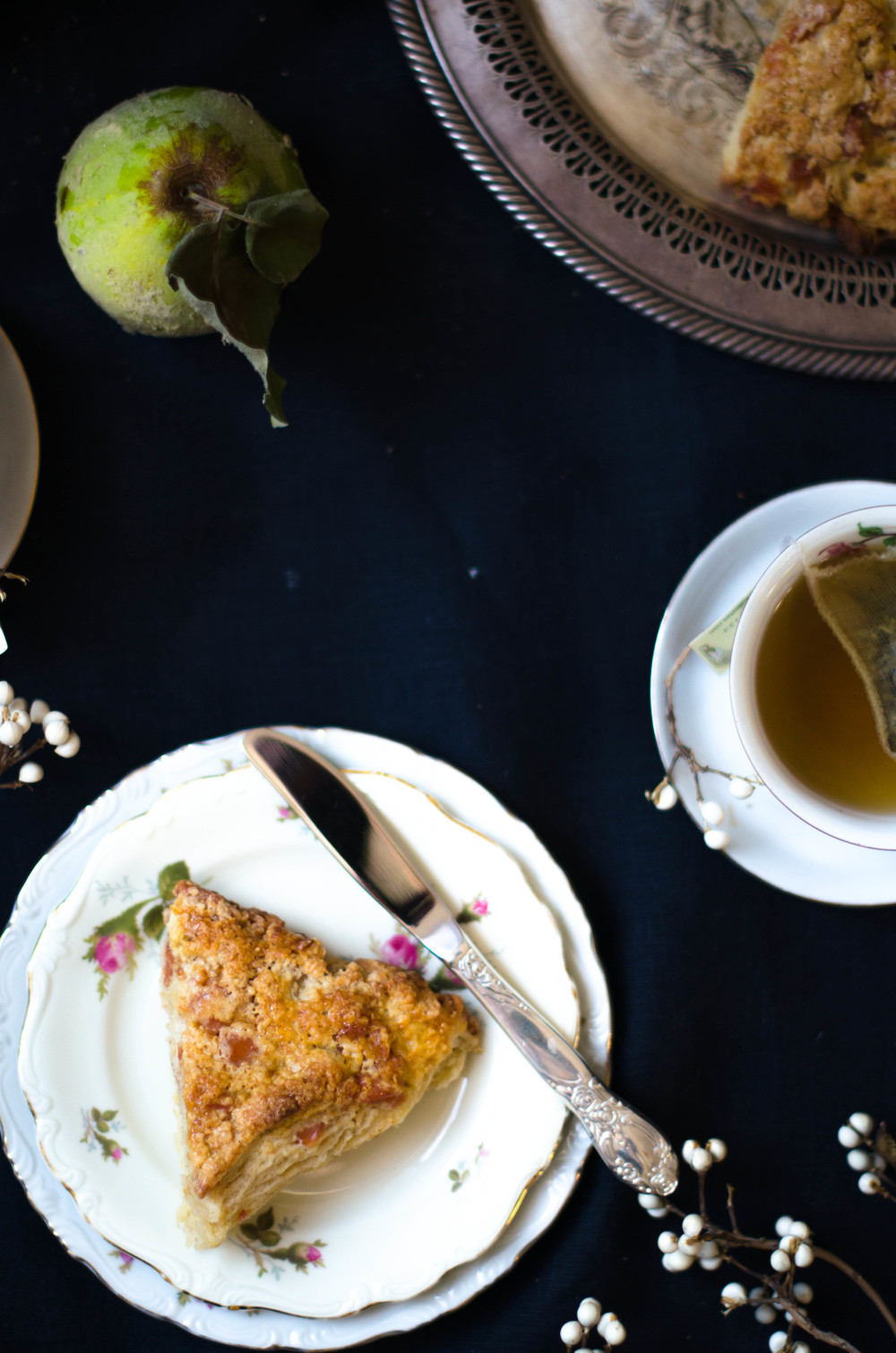 ROSE & IVY Journal Quince Scones