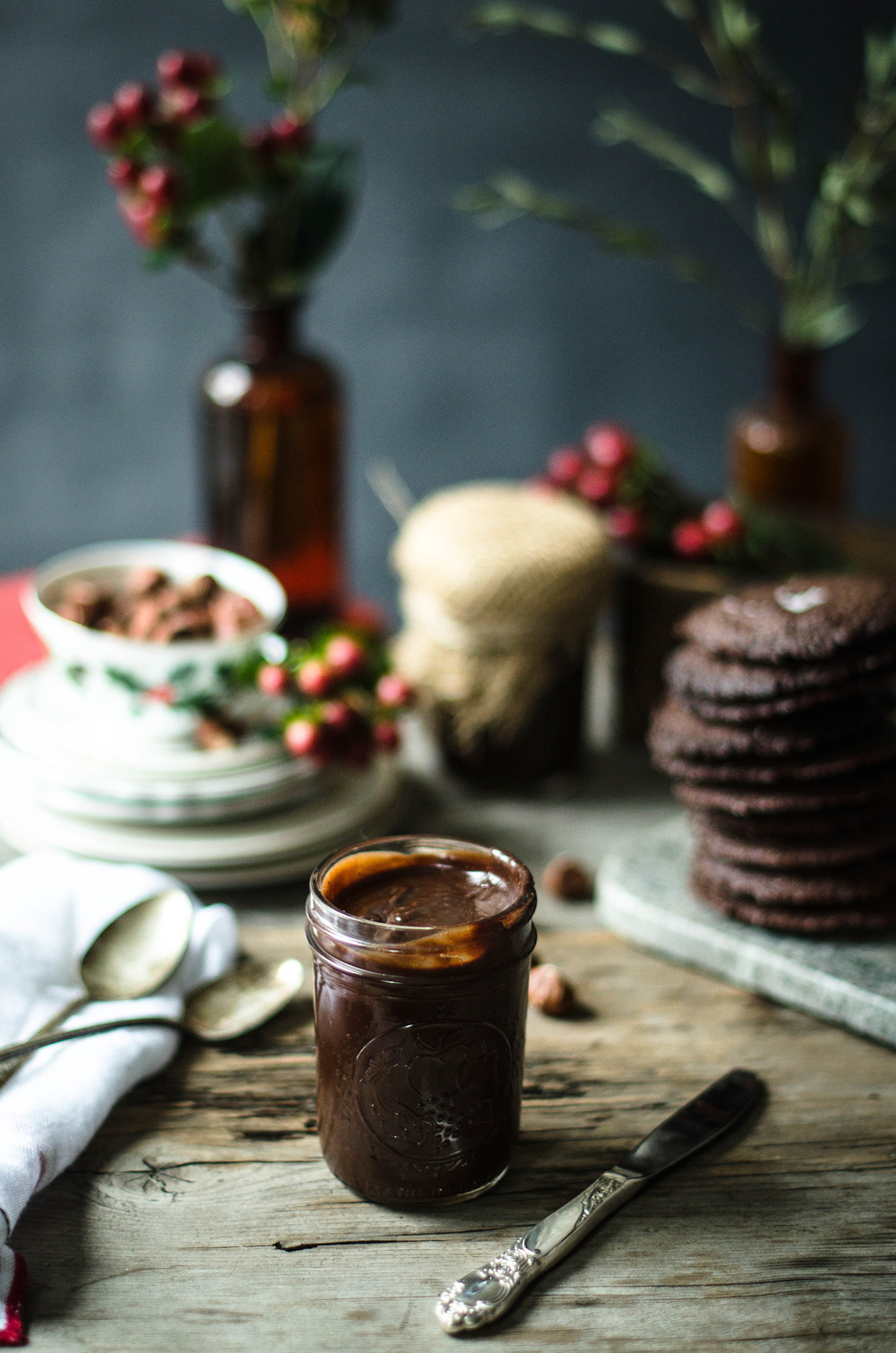 ROSE & IVY JOURNAL DARK CHOCOLATE HAZELNUT SPREAD