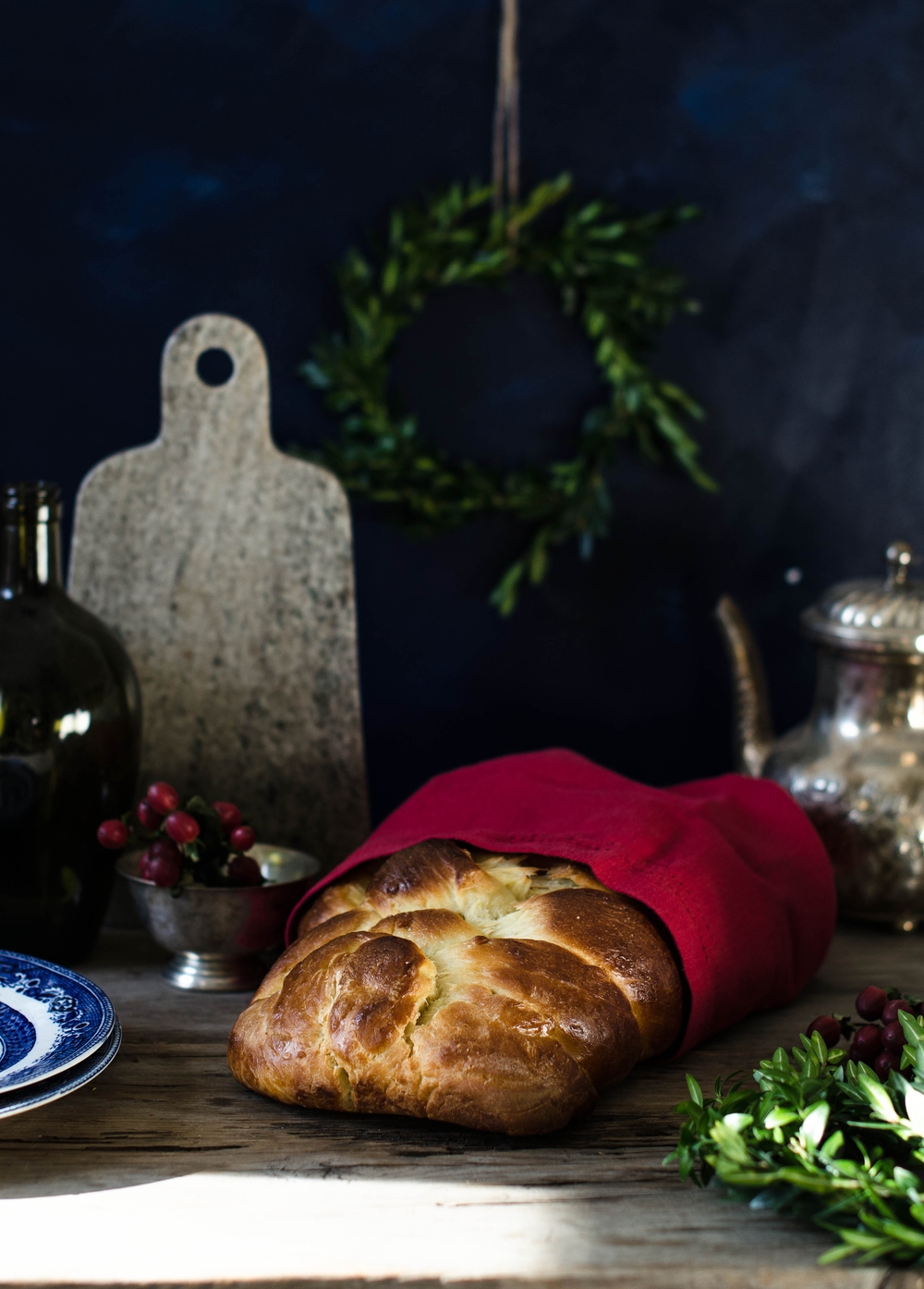 ROSE & IVY JOURNAL CHALLAH BREAD