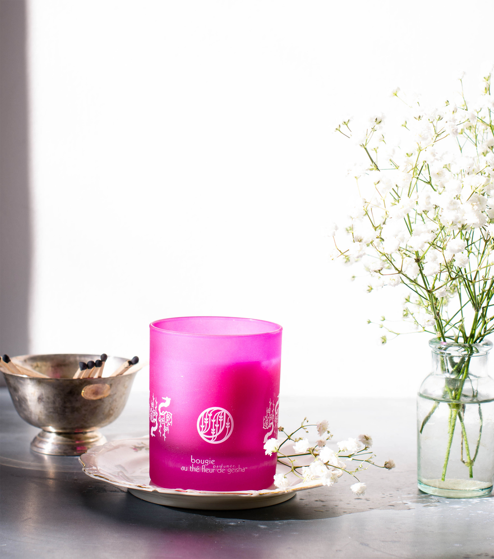 ROSE & IVY JOURNAL LE PALAIS DES THES CANDLE