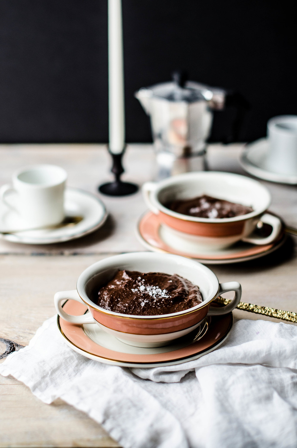 ROSE & IVY JOURNAL DOUBLE CHOCOLATE PUDDING
