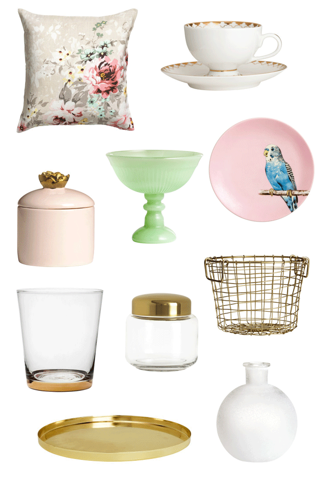 ROSE & IVY JOURNAL H&M HOME PICKS