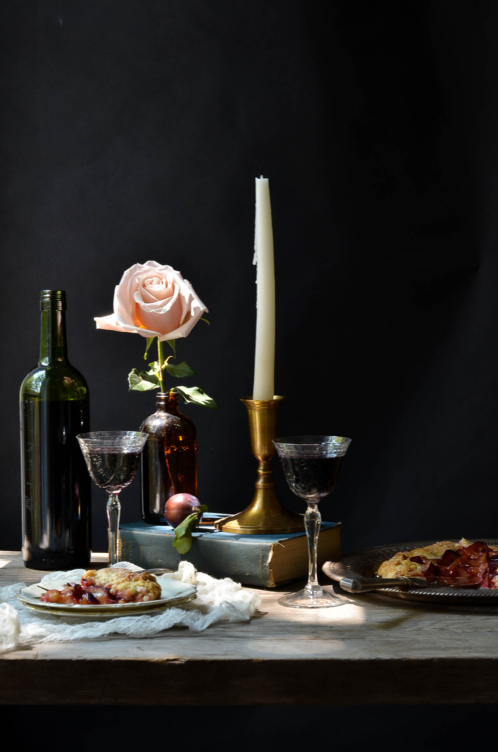 ROSE & IVY JORNAL PLUM & ROSE TART