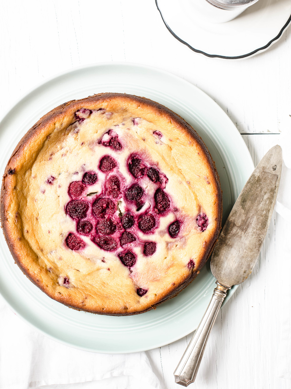 ROSE & IVY JOURNAL RASPBERRY RICOTTA CAKE