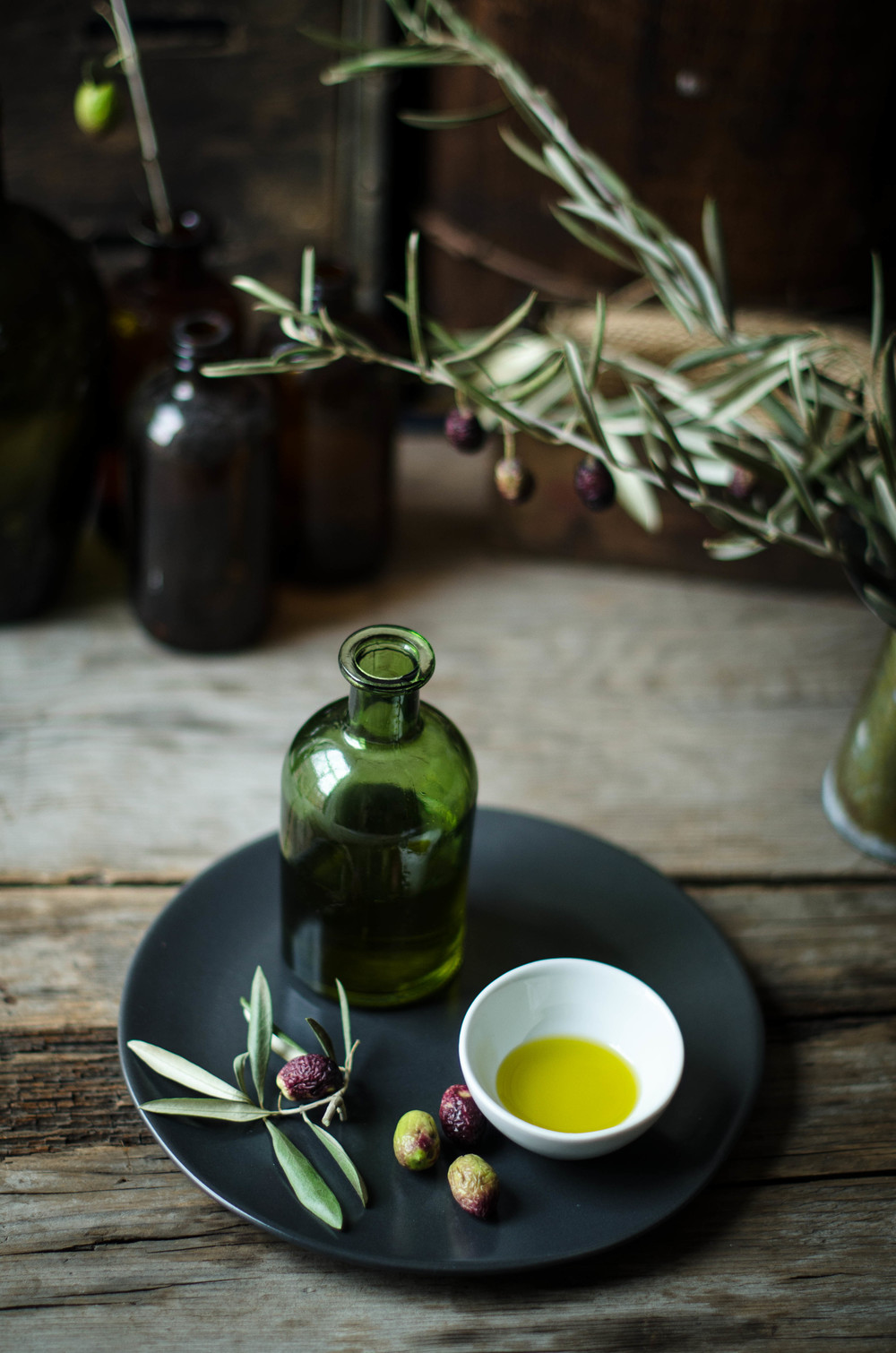 ROSE & IVY JOURNAL OLIVE OIL