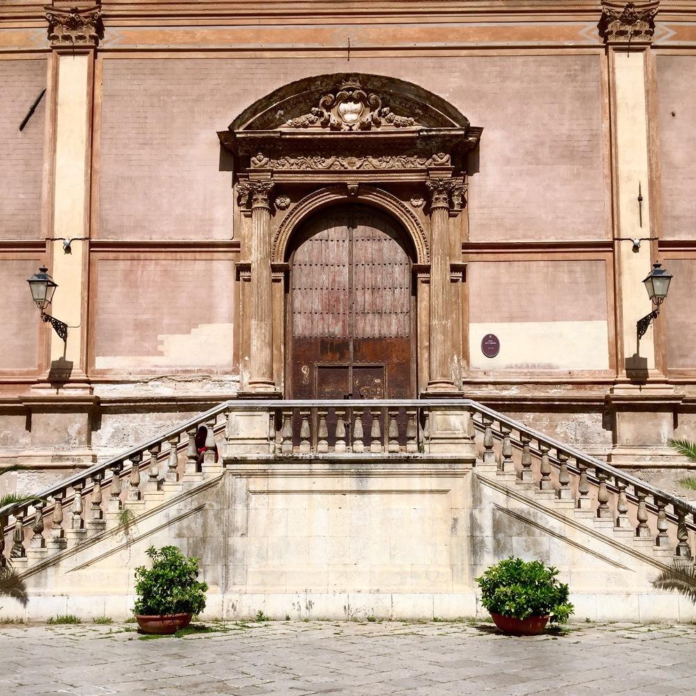 A grand palazzo in Palermo, Sicily