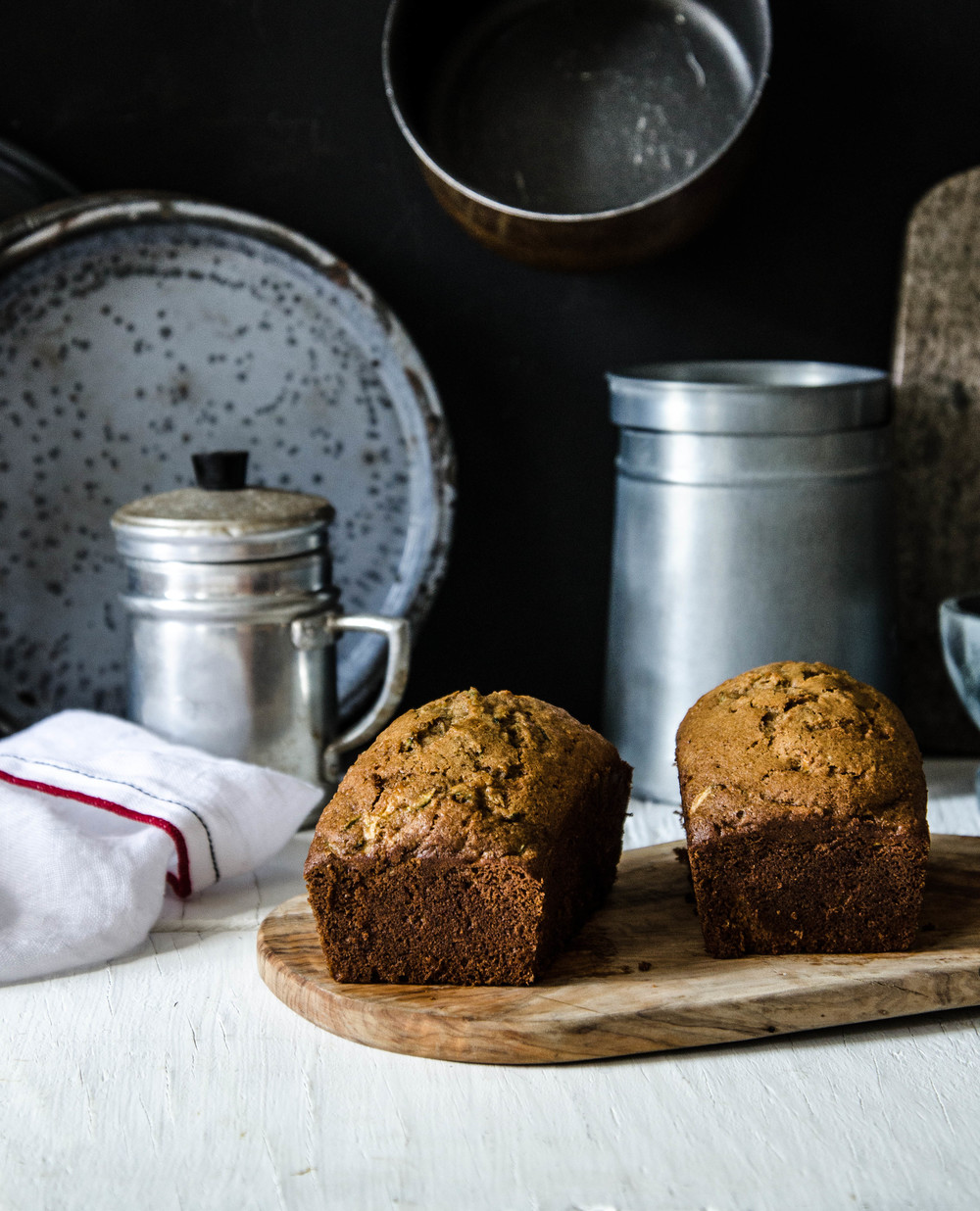 ROSE & IVY Journal Spiced Zucchini Olive Oil Bread