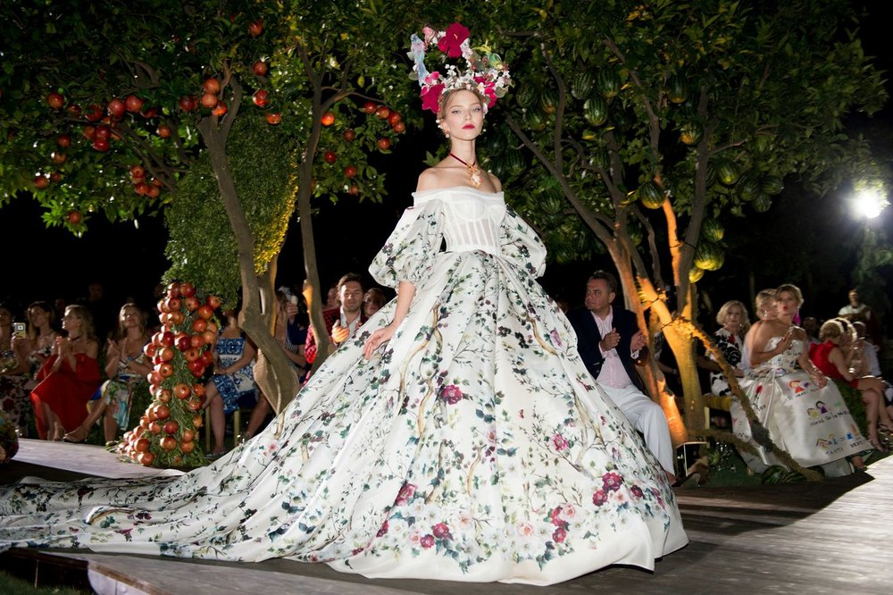 ROSE & IVY Journal Dolce & Gabbana Alta Moda Fall 2015