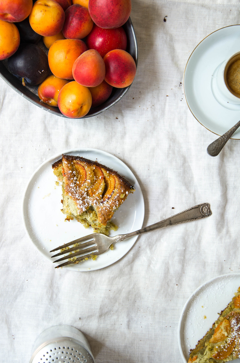 ROSE & IVY Journal Almond Apricot Pistachio Cake
