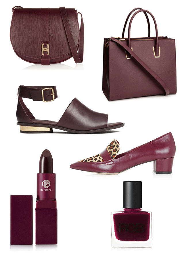 ROSE & IVY Journal Currently Coveting Burgundy Hues