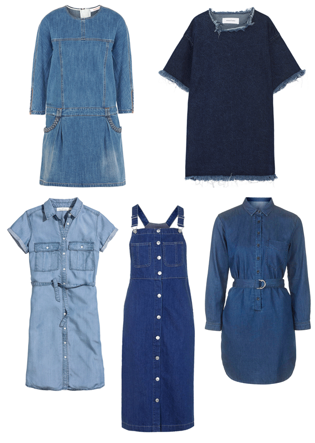 ROSE & IVY Journal Summer Essential The Denim Dress
