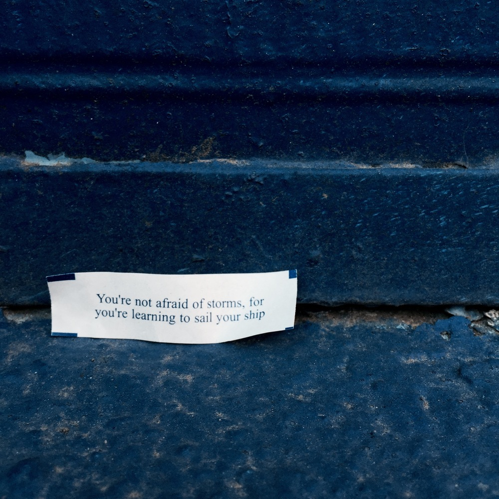This fortune made me feel nice