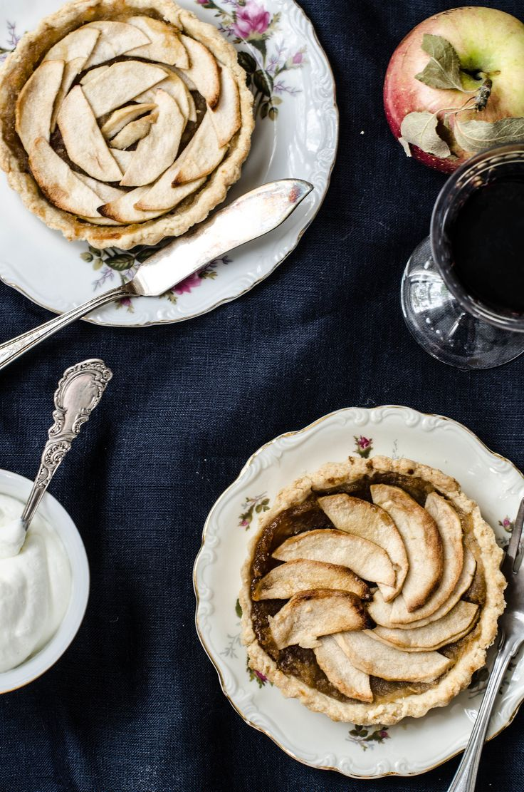 Apple Tart with Orange Blossom Water, ROSE & IVY Journal