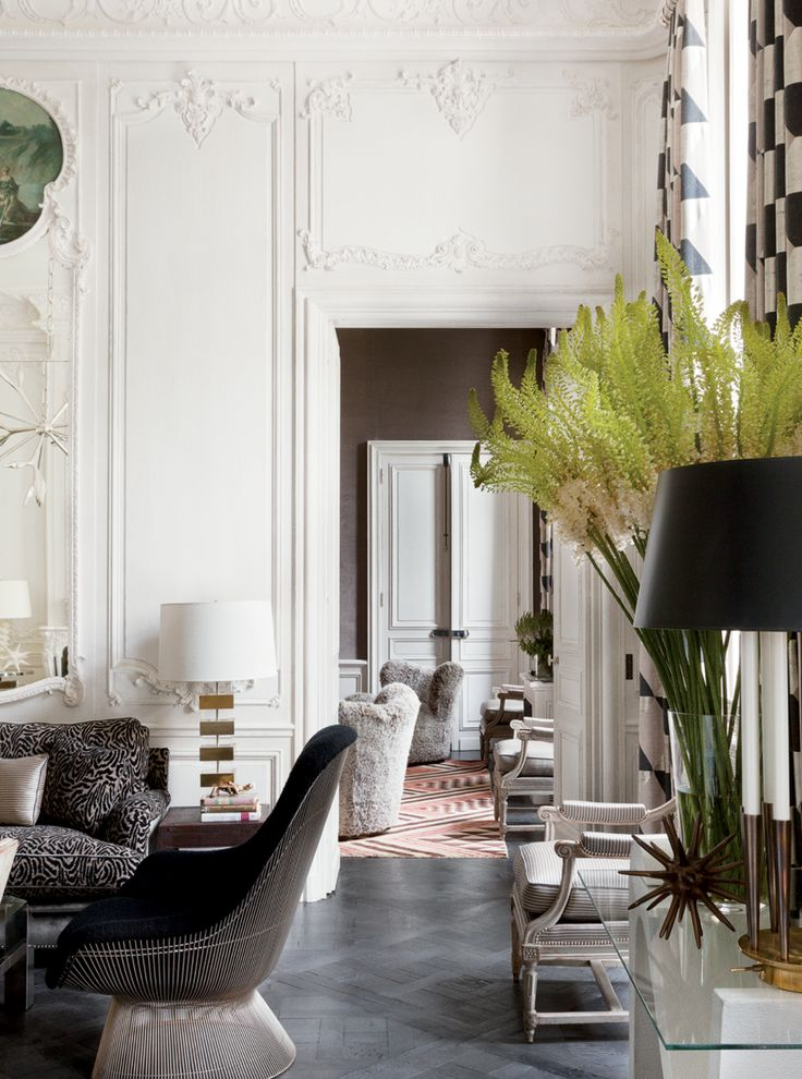 ROSE & IVY Journal Dreaming of Paris Gorgeous Parisian Apartments