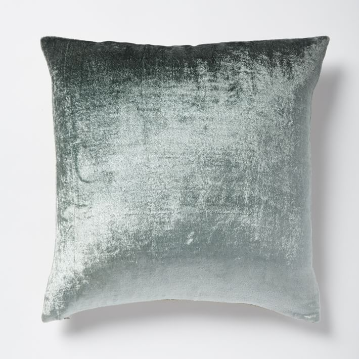 ROSE &IVY JOurnal Luster Velvet Pillow West Elm