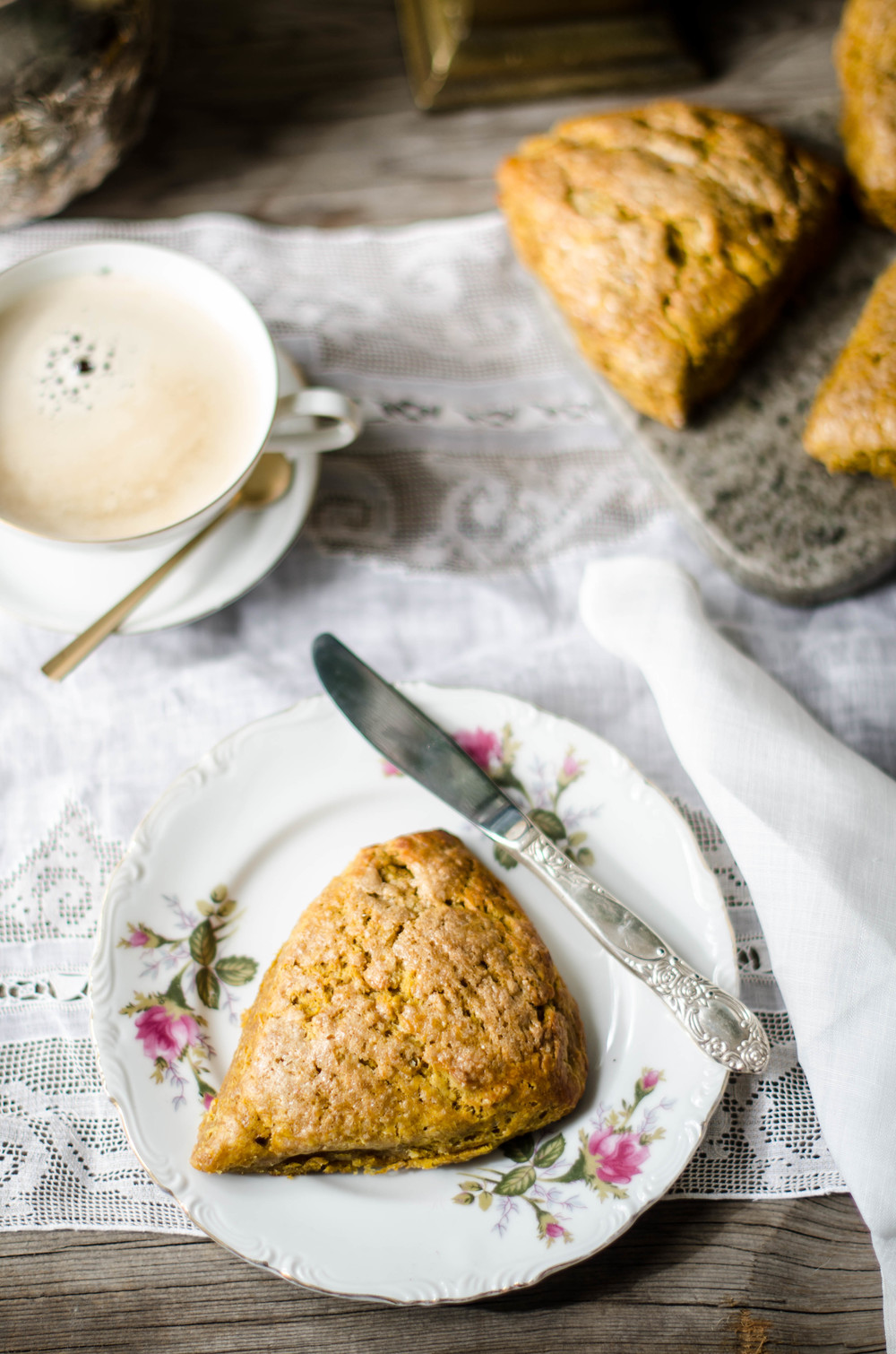 ROSE & IVY Journal Pumpkin Scones