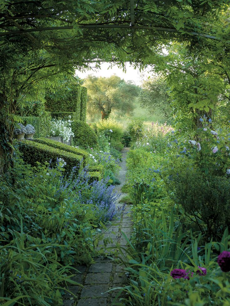 Unmanicured spaces or lawns would be turned into romantic gardens.