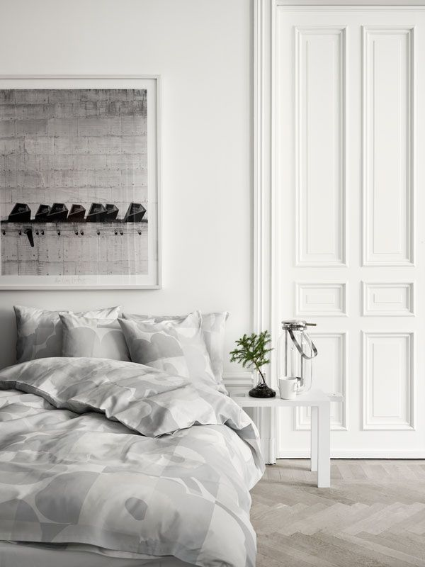 All New York City apartments would be painted bright white, not the drab white that most are painted.