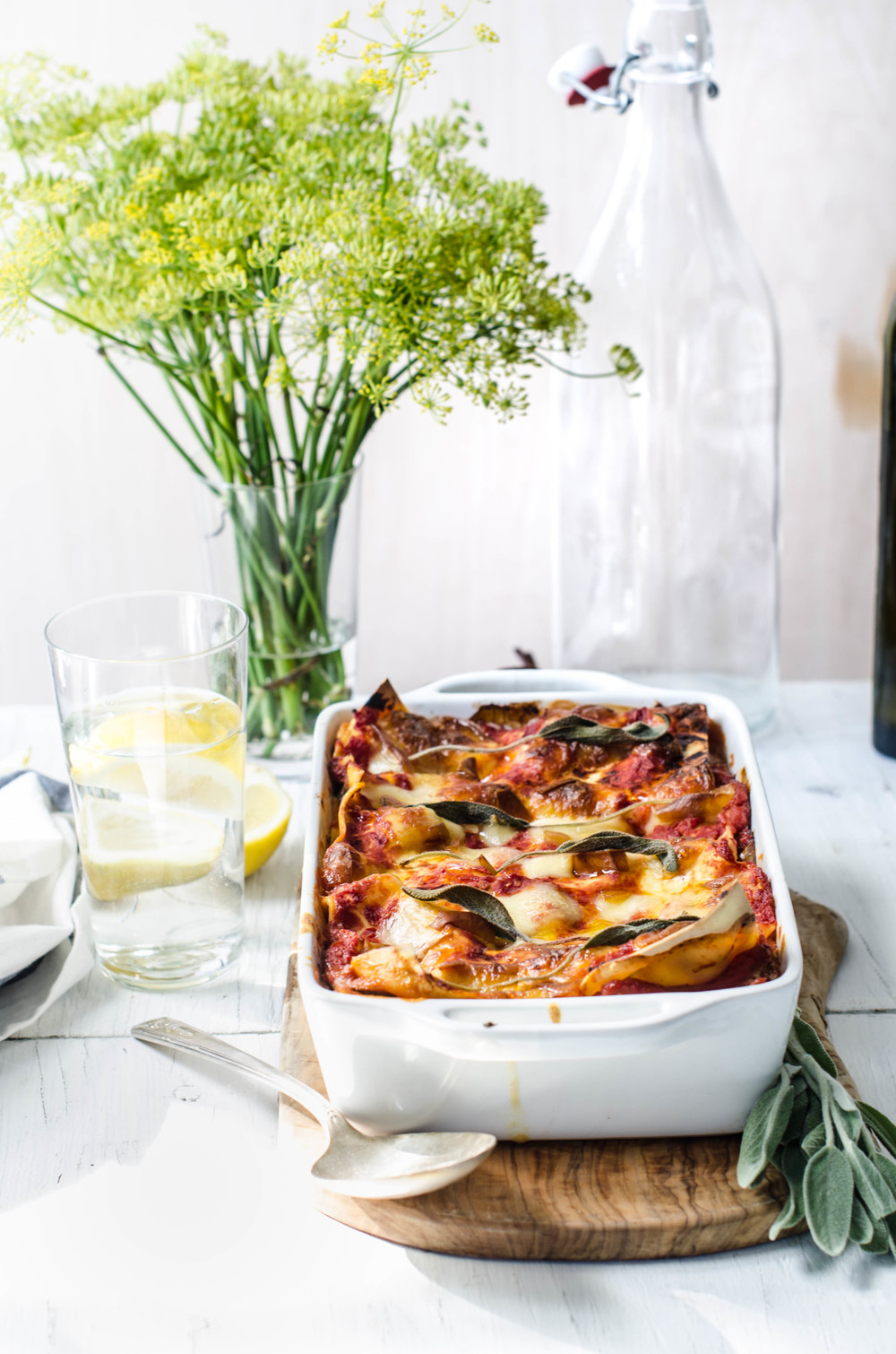 ROSE & IVY Journal Lasagna alla Norma
