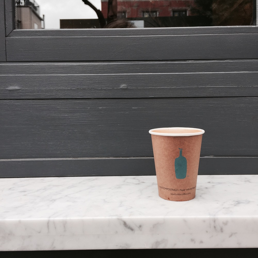 ROSE & IVY Journal Blue Bottle Coffee