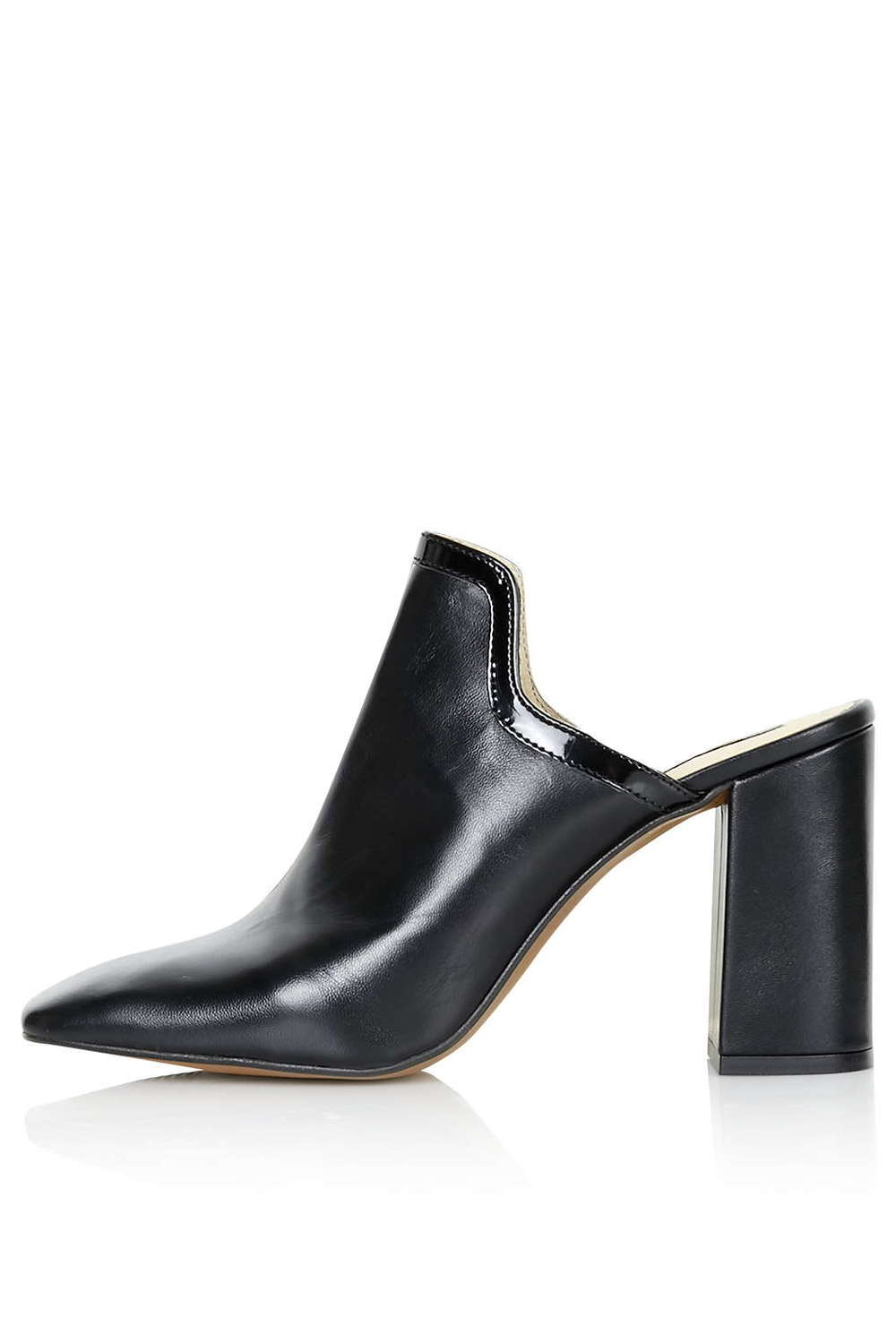 ROSE & IVY Journal topshop leather mules