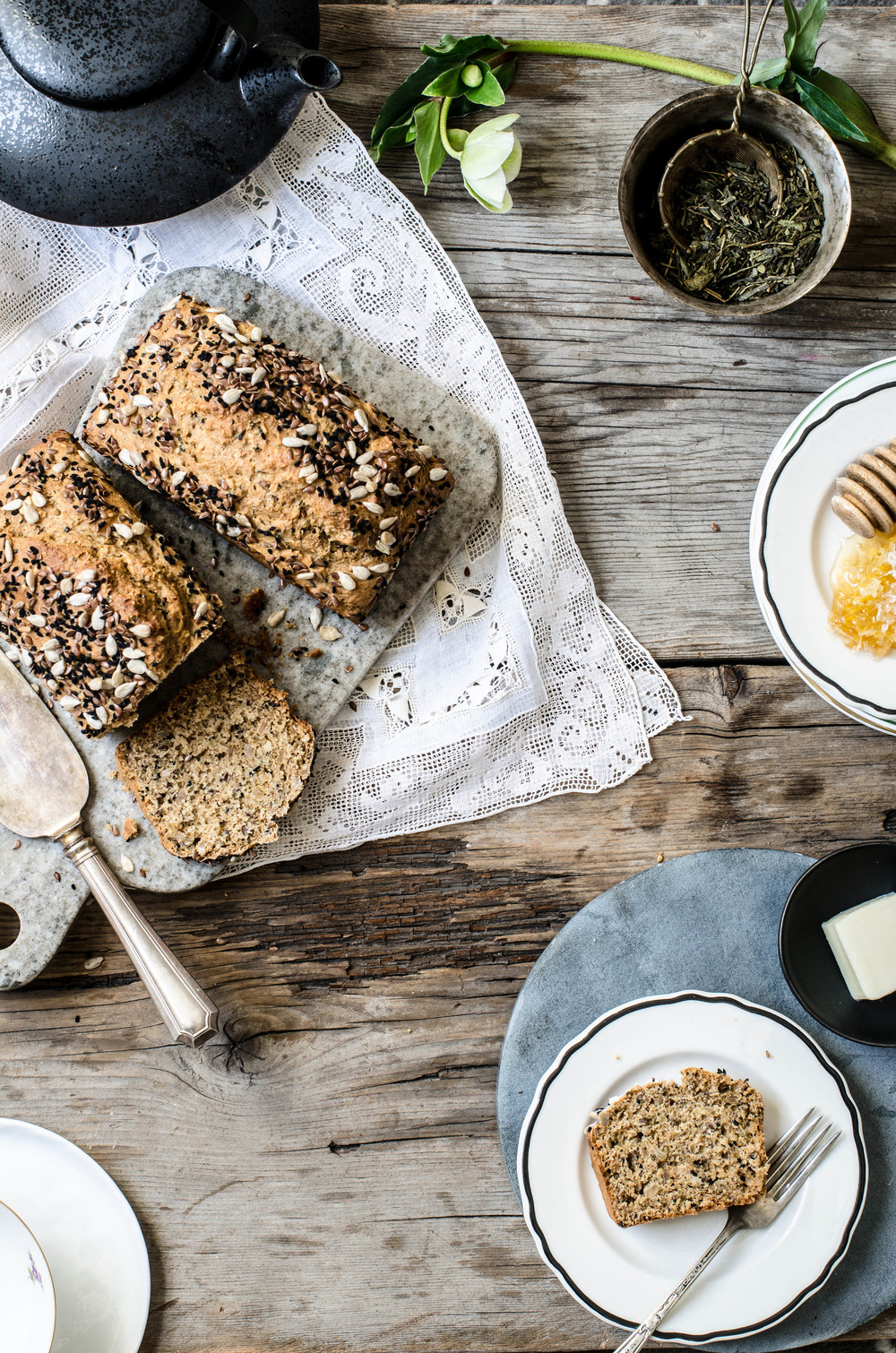 Seeded Honey Bread