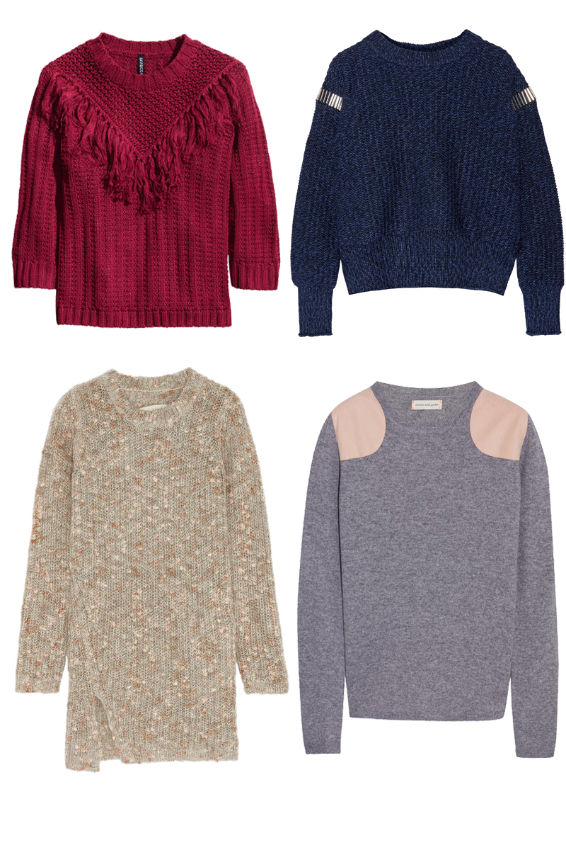 ROSE & IVY Journal The Coziest Sweaters of the Season