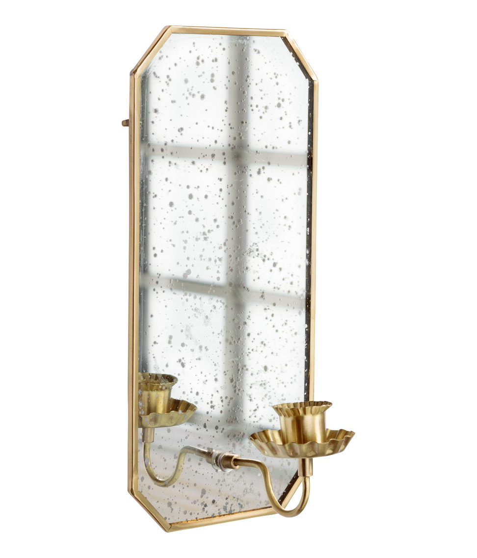 ROSE & IVY Journal Gold Sconce