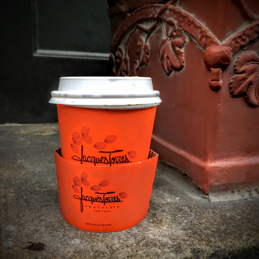 ROSE & IVY Journal The Best Hot Chocolate in New York City Jacques Torres