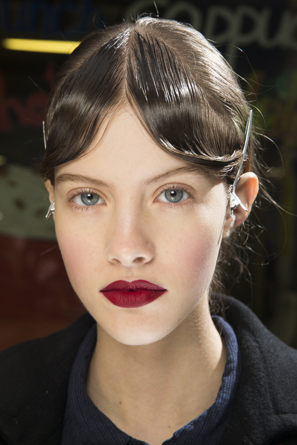 ROSE & IVY Journal Beauty Flash | London Fall 2016 Mary Katrantzou