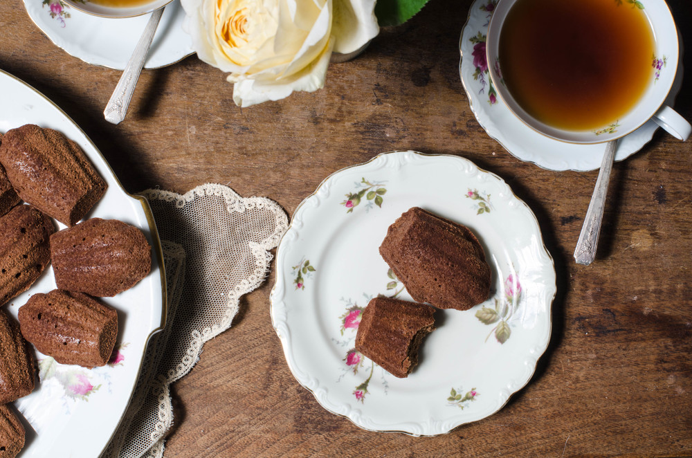 ROSE & IVY Journal Chocolate Madelines