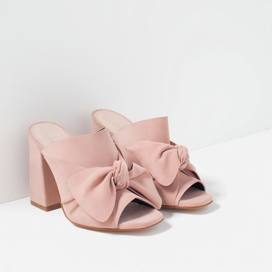 ROSE & IVY Journal Style Crush Zara's Bow Mules
