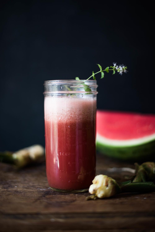 ROSE & IVY Journal A Taste of Summer Watermelon & Ginger Juice