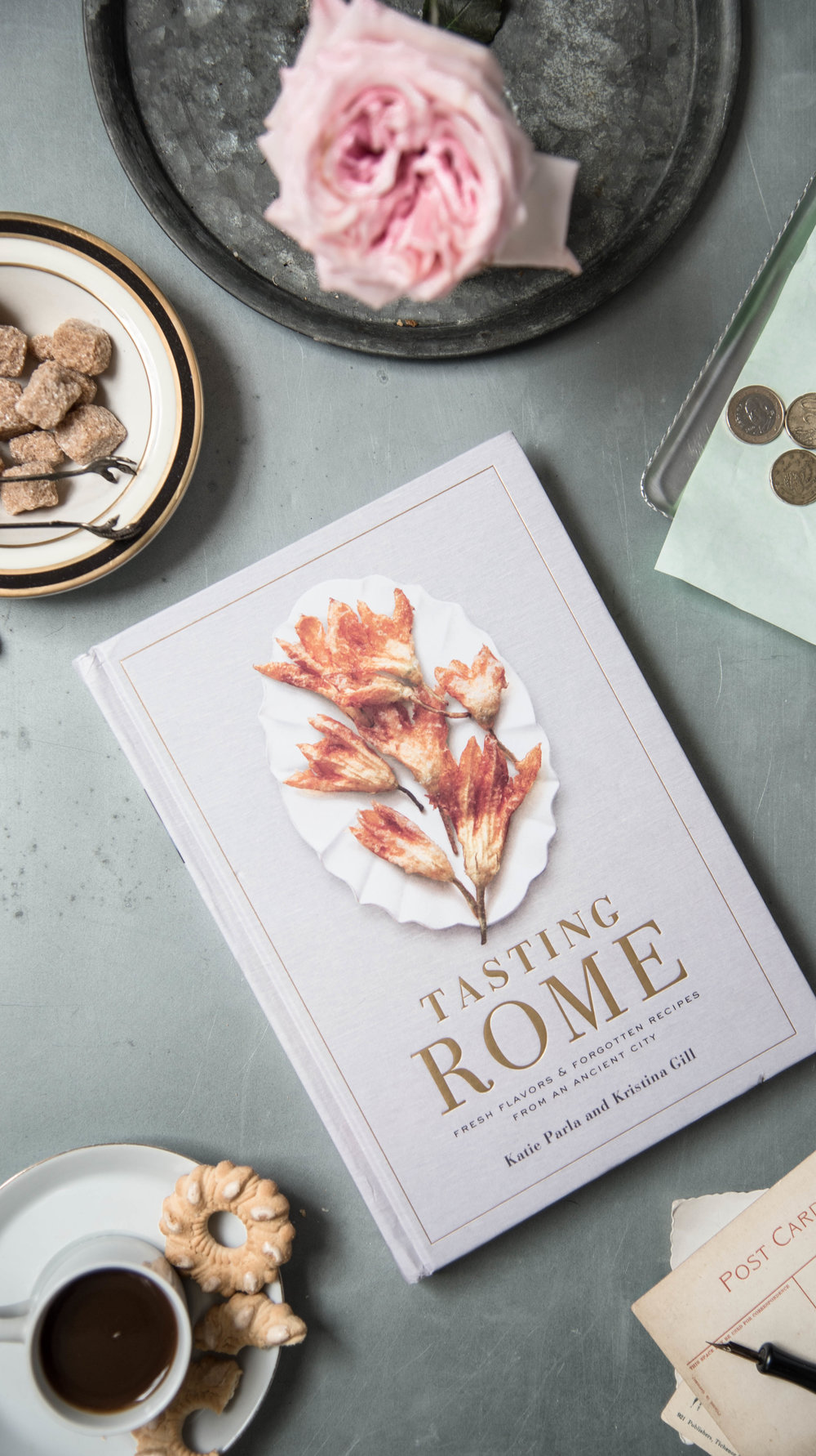 ROSE & IVY Journal New Cookbooks for Fall Tasting Rome