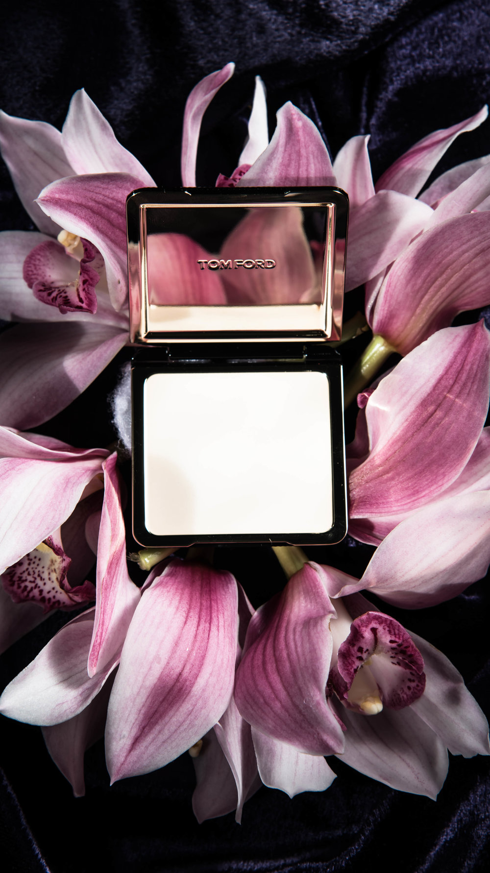 ROSE & IVY Journal Tom Ford Black Orchid Collection