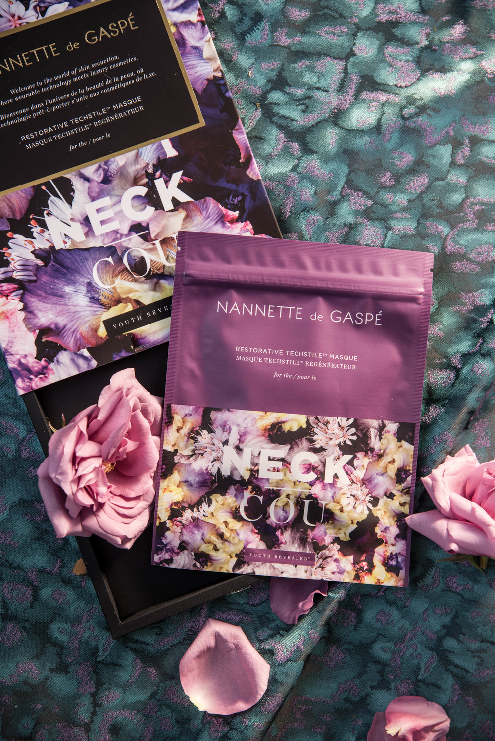 ROSE & IVY Journal Gift Guide 2016 The Mood Dark Florals Nanette de Gaspe Masque for the Neck