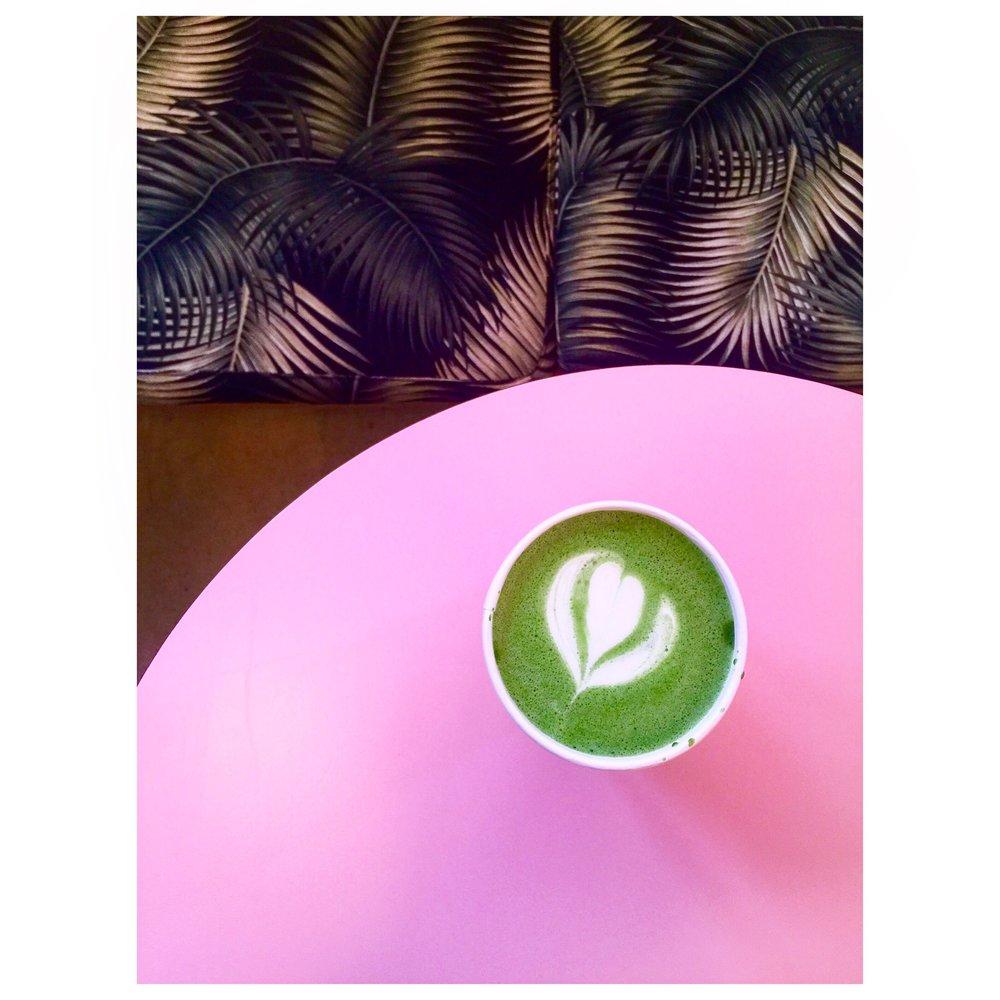 Simply adore  Cha Cha Matcha's  pink decor