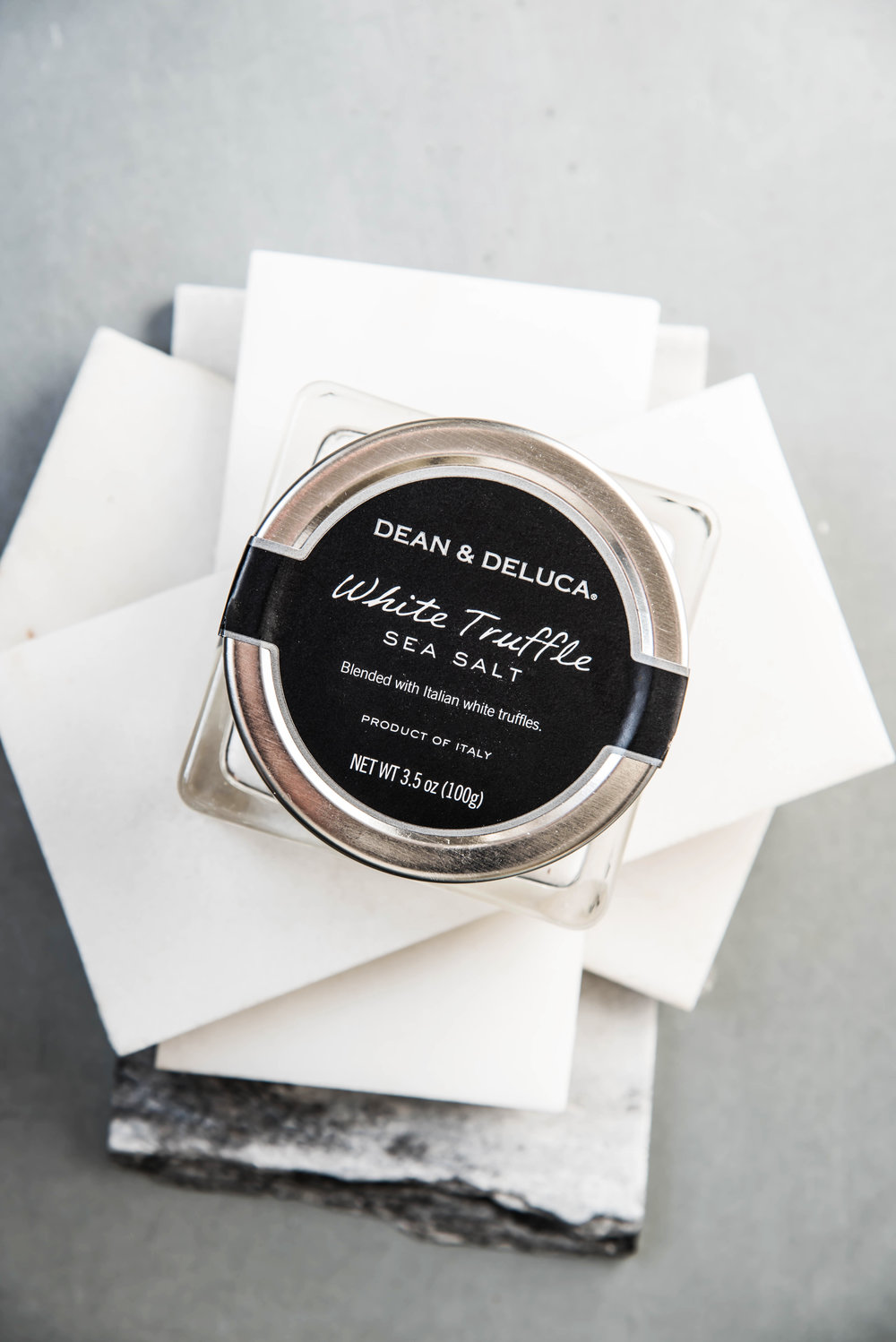 ROSE & IVY Journal Dean & Deluca White Truffle Salt