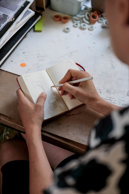 ROSE & IVY Journal From the Journal Artist Lana Kova