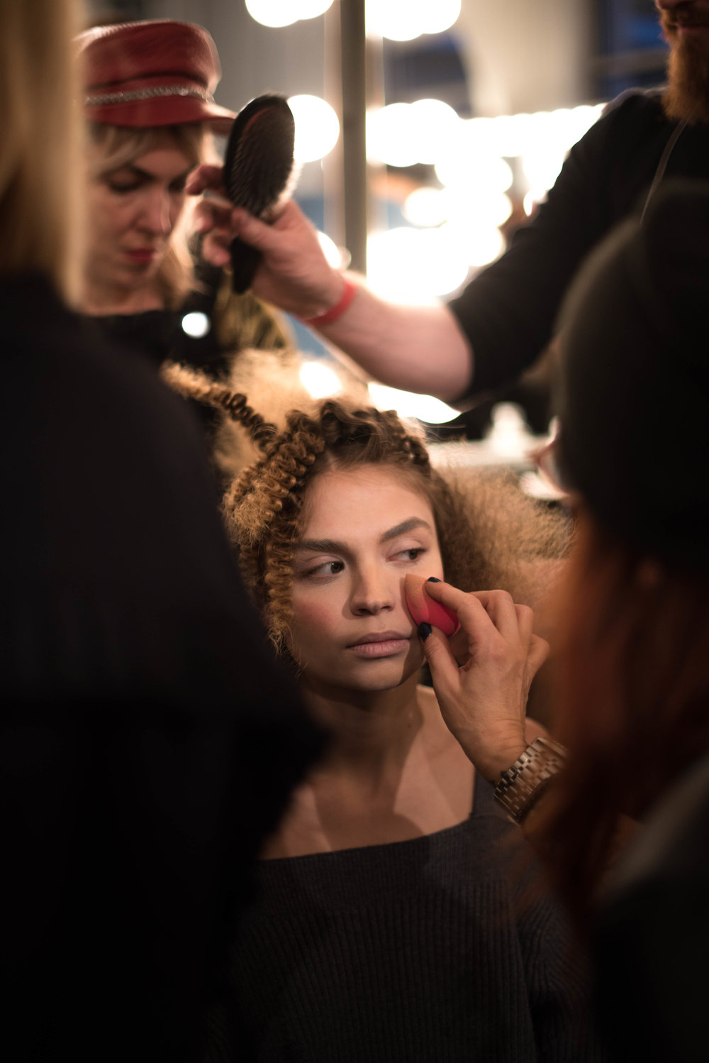 ROSE & IVY Journal NYFW Fall 2017 | A Détacher Backstage Beauty & Highlights