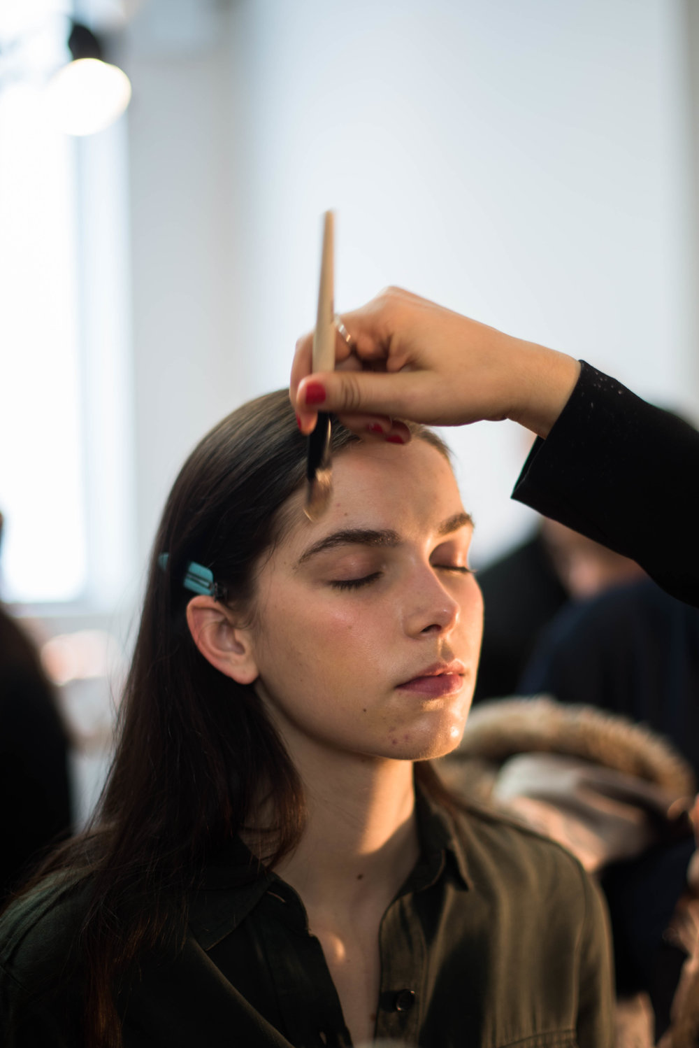 ROSE & IVY Journal Fall 2017 Tibi Backstage Beauty