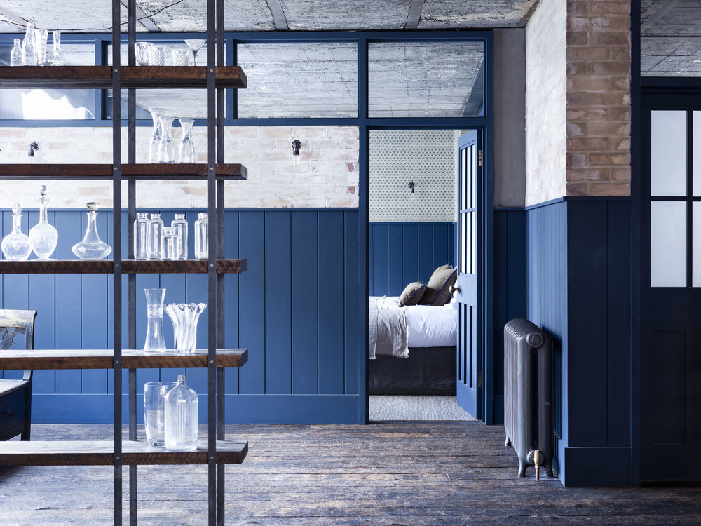 ROSE & IVY Journal Inspring Interiors | A Case for Blues in London