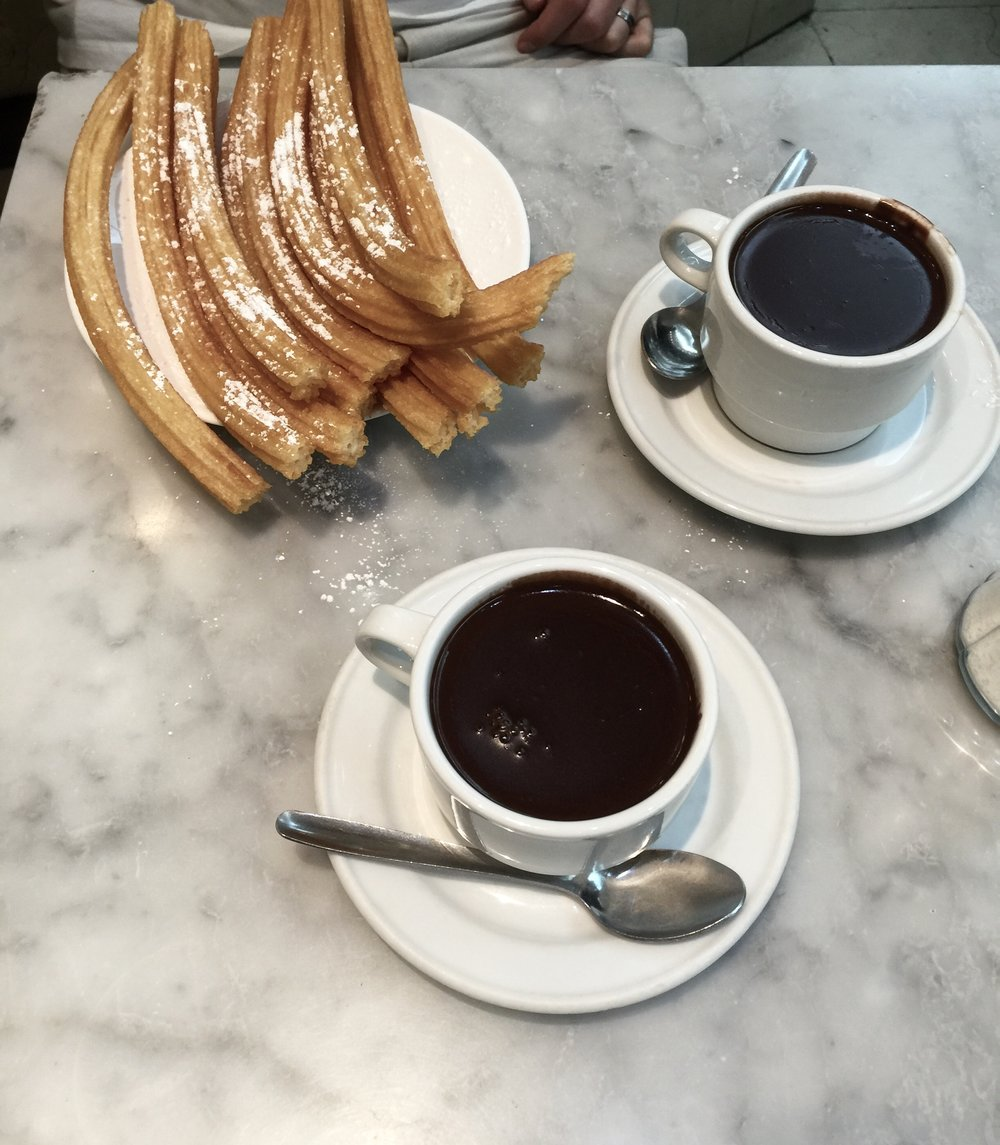 Where to Eat the Best Churros in Madrid | Chocolatería San Ginés
