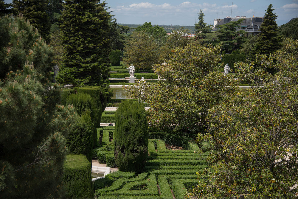 ROSE & IVY Journal Madrid in 48 Hours Sabatini Gardens