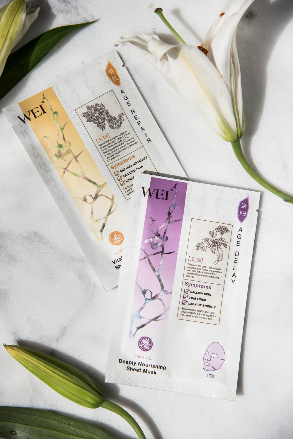 ROSE & IVY Journal Mask Mondays Wei's Mask Magic Sheet Masks