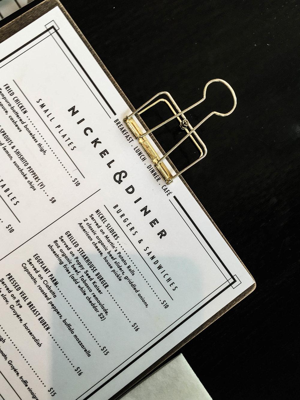 ROSE & IVY Journal A Taste of New York Nickel & Diner