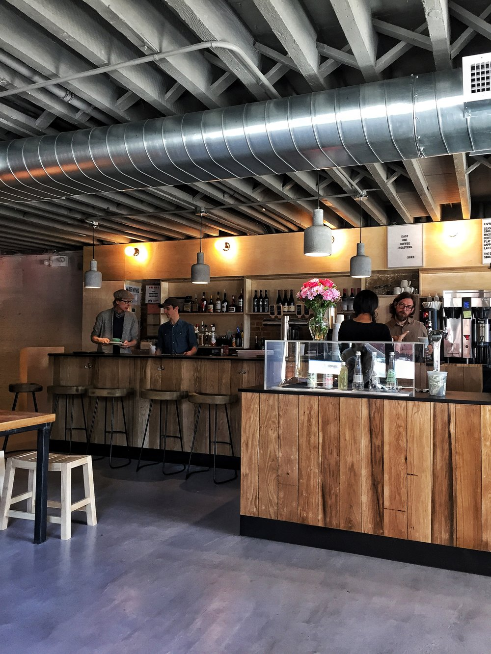 ROSE & IVY Journal A Taste of New York East One Coffee Roasters + Eatery