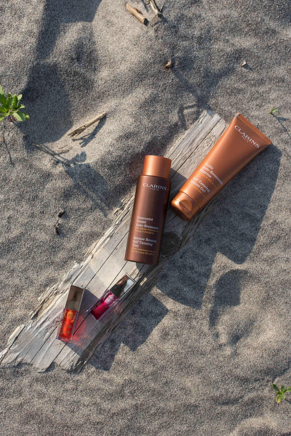 ROSE & IVY Journal Bronzed Beauty with Clarins