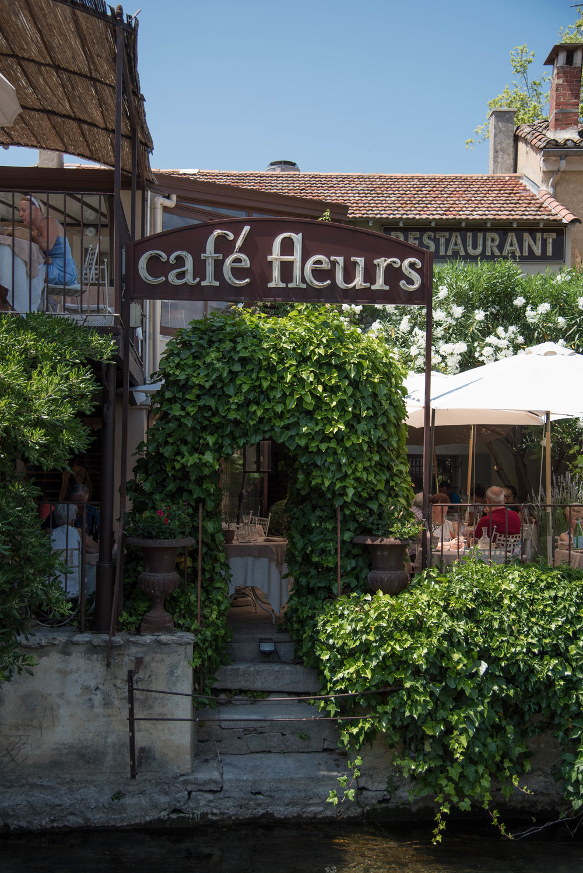 Café Fleurs, a Michelin rated restaurant is an ideal spot to tuck away for a bit amongst rambling vines.